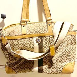 Coach Diaper Messenger Bag